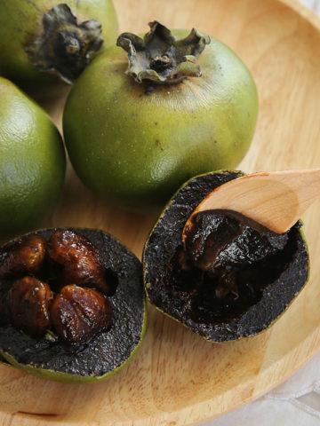 Black Chocolate Sapote Tree (diospyros digyna) #DIO-DIG